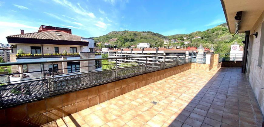 ANTIGUO VENTABERRI ático terraza suroeste